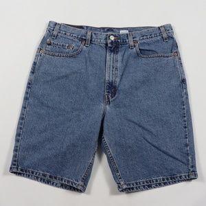 Vintage Levis 505 Regular Fit Denim Jean Shorts 36